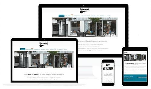 HØRERØRET.dk - Designet af WEBstationen