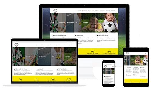 WEBside for Rødvig Gymnastik og Idrætsforening - Forsiden
