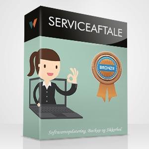 serviceaftale bronze