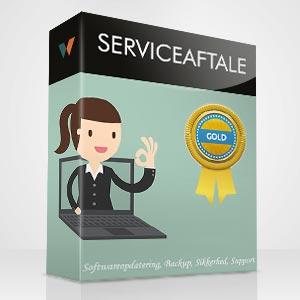 serviceaftale gold
